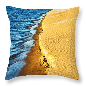 Early Morning Walk Throw Pillow by Bill Kesler