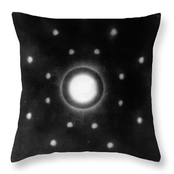 Sodium Chloride Throw Pillows