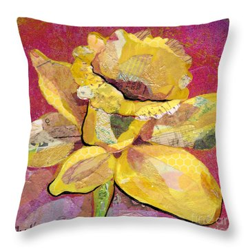 Early Spring IIi  Daffodil Series Throw Pillow