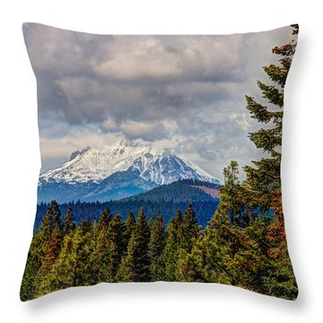 Early Storm Throw Pillow