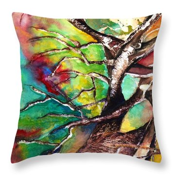 Earth Angel Sold Throw Pillow