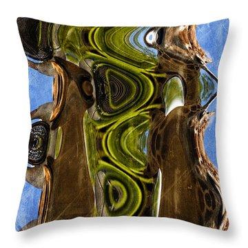 Earth Delight Throw Pillow