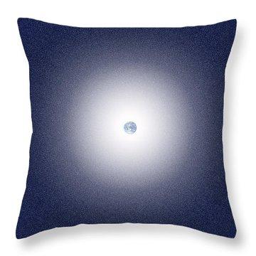 Earth Field Throw Pillow