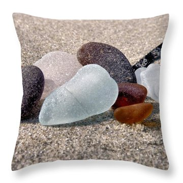 Throw Pillow featuring the photograph Earth Tones by Janice Drew