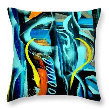 Imagination -  Throw Pillow by Yul Olaivar