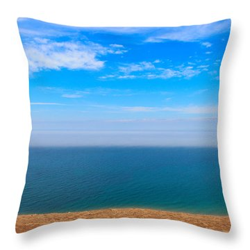 Earth Wind And Water Throw Pillow by Rachel Cohen