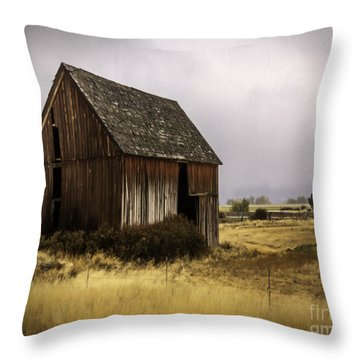 Earthly Possessions Throw Pillow by Jean OKeeffe Macro Abundance Art