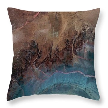 Earthship 1 Throw Pillow