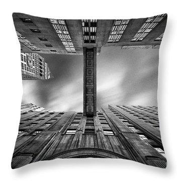 East 24th Throw Pillow by John Farnan