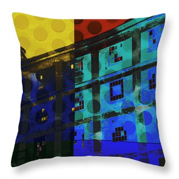 East Central Avenue Throw Pillow