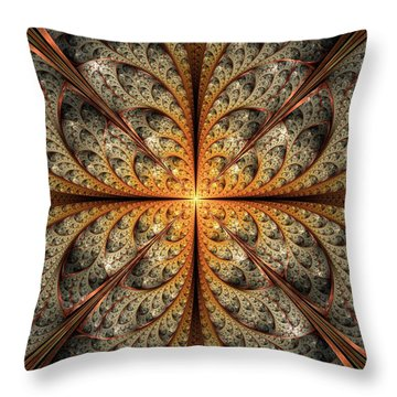 East Gates Throw Pillow by Anastasiya Malakhova