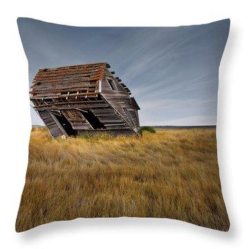 East Montana Texture Throw Pillow by Leland D Howard