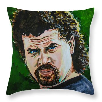Kenny Powers Throw Pillows
