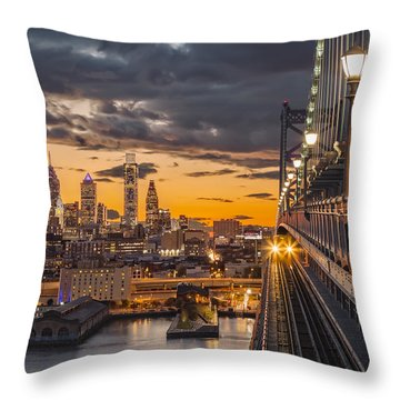 Eastbound Encounter Throw Pillow