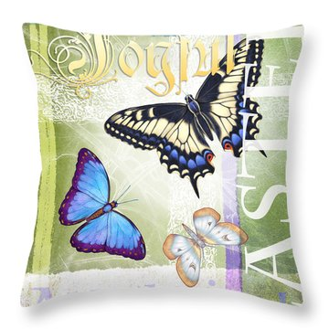 Easter Alleluia Throw Pillow