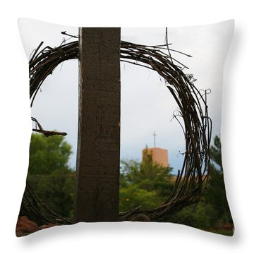 Easter Morn Throw Pillow