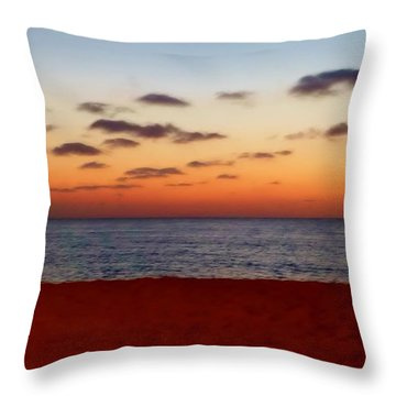 Throw Pillow featuring the photograph Easter Sunset by Amar Sheow