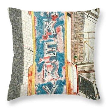 Eastern Bakery Throw Pillow