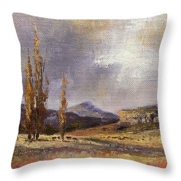 Eastern Free State Scene Throw Pillow