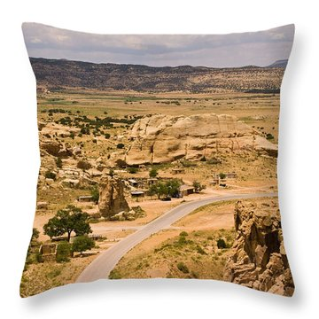 Eastern Mesa View Throw Pillow