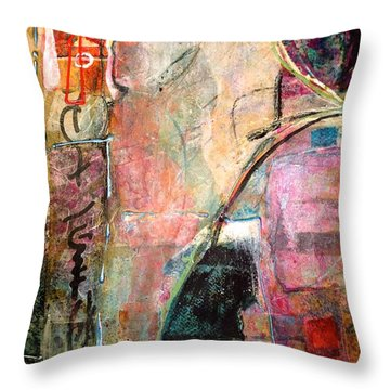 Eastern Wisdom Throw Pillow