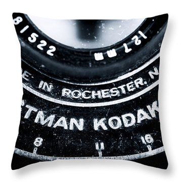 Eastman Kodak Co Throw Pillow