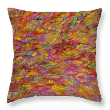 Easy Flow Throw Pillow