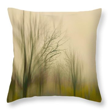 Easy On Me Throw Pillow by Diana Angstadt