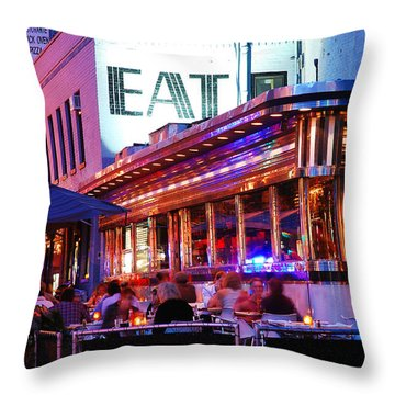 Eat Throw Pillow