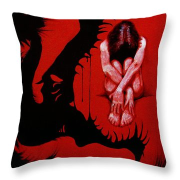 Eater Throw Pillow