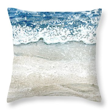 Ebb And Flow Throw Pillow