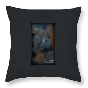 Throw Pillow featuring the photograph Echo... by Marija Djedovic