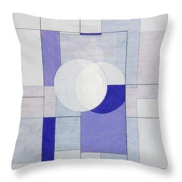 Echo Of Silence Throw Pillow by George Dannatt