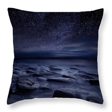 Echoes Of The Unknown Throw Pillow by Jorge Maia