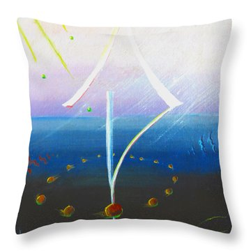 Echos Throw Pillow