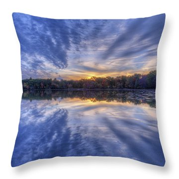 Eclat Du Soir Throw Pillow