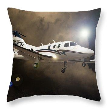 Eclipse Landing Throw Pillow