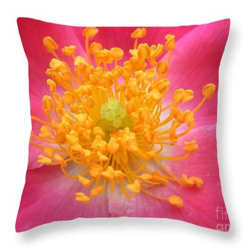 Ecstatic Dance Throw Pillow
