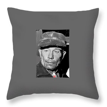 Ed Gein The Ghoul Who Inspired Psycho Plainfield Wisconsin C.1957-2013 Throw Pillow
