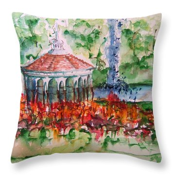 Eden Park Throw Pillow