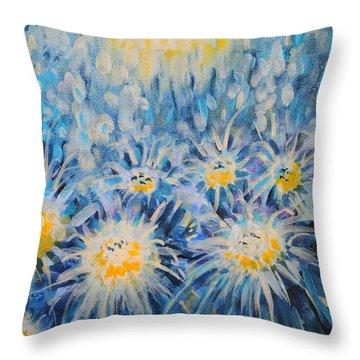 Edentian Garden Throw Pillow