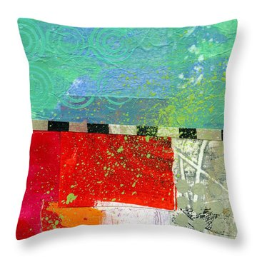 Edge 48 Throw Pillow by Jane Davies