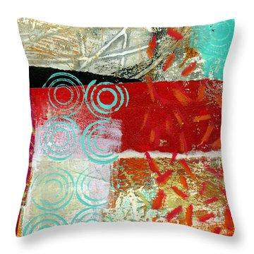 Edge 50 Throw Pillow by Jane Davies