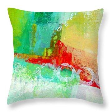 Edge 59 Throw Pillow by Jane Davies