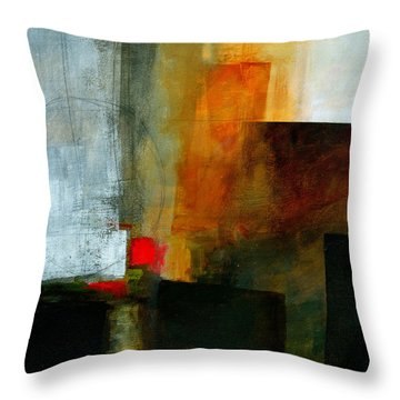 Edge Location 3 Throw Pillow by Jane Davies