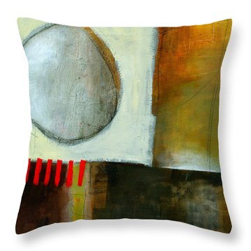 Edge Location #4 Throw Pillow by Jane Davies