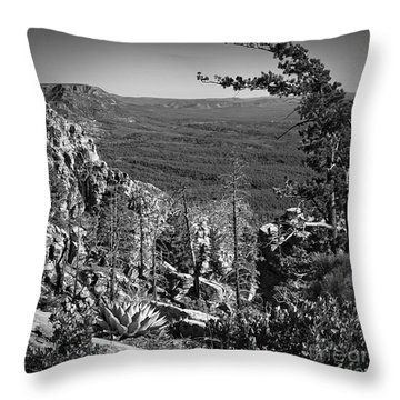 Mogollon Rim Square  Throw Pillow