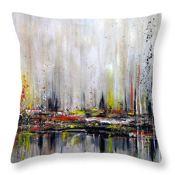 Edge Of Perception Throw Pillow