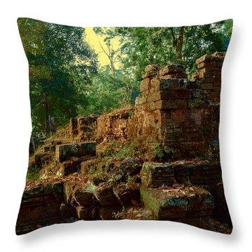 Edge Of Ruin Throw Pillow