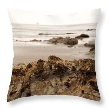 Edges Throw Pillow by Amanda Barcon